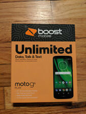Motorola Moto G6 Play 16GB Smartphone - Black **UNLOCKED** BOOST MOBILE