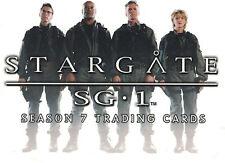 Stargate Season 7 Trading Card Set (72 Cards)