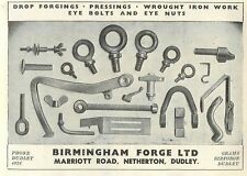 1953 Birmingham Forge Marriot Road Netherton Dudley Ad