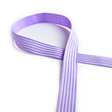 25mm Grosgrain Ribbon Cloth Tape DIY Hair Accessory Shoe Clothing Craft 3c Light Purple