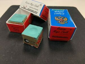 NEW- Magic Chalk - 2 Boxes (4 cubes) Best Chalk of the WorldGREEN fast shipping
