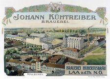 JOHANN KUHTREIBER BREWERY, Germany, 1900's, 250gsm A3 Poster