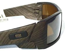 NEW* OAKLEY Gascan in WOODGRAIN matte w POLARIZED Bronze lens Sunglass 9019-07