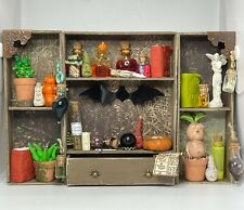 More details for dolls house 1/12th scale fully stocked witches apothecary unit