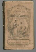 1857 Ray's New Primary Arithmetic for Young Learners, Stereotype Edition