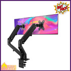 Dual Arm Monitor Stand Adjustable Gas Spring Monitor Mount Desk Arms Black