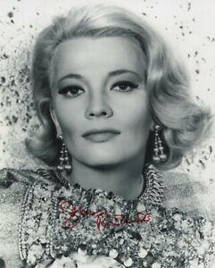 GENA ROWLANDS SIGNED AUTOGRAPH 8X10 PHOTO   GLORIA  THE NOTEBOOK #2