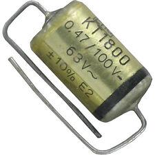 8 St KT1800 (MKT) axialer Folienkondensator Roe 470nF 0,47µF 100V 10% NOS