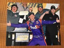 Denny Hamlin Signed 8x10 Photo NASCAR autograph COA
