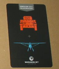 World of Tanks / War Planes Einladungs-Code Gamescom 2014
