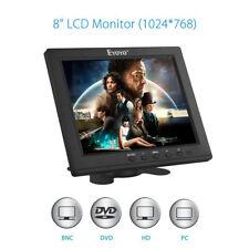 Eyoyo 8 pouces Écran TFT LCD Moniteur Vidéo couleur 1024*768 Entrée VGA BNC HDMI