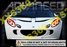 ORACLE for Lotus Elise 04-08 RED LED Headlight Halo Angel Demon Eyes Rings Kit
