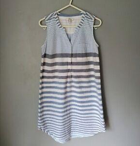 FAT FACE Sailor Stripe Summer Dress Top Size 6 UK