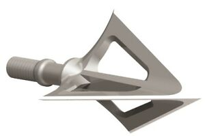 G5 Montec Fixed Blade Broadhead 125 Grain Stainless Steel 3 Pack Model# 110
