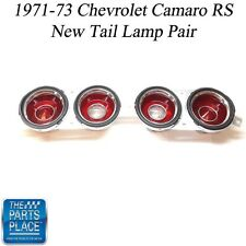 1971-73 Chevrolet Camaro RS Only New Tail Lamp Fixtures - Pair