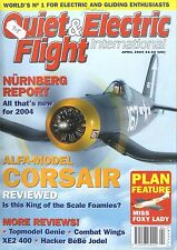 QUIET & ELECTRIC FLIGHT INTERNATIONAL MAGAZINE 2004 APT MISS FOXY LADY, CORSAIR