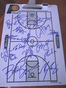 Indiana Pacers Team signed Clipboard