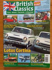 British Classics 4/2013, Lotus Cortina, Big Healey, Jaguar XJ12 Avon Estate!!,