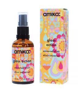 Amika Glass Action Universal Elixir Hair Anti-frizz Hair Oil 50ml/1.7 fl.oz