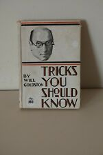 MAGIC BOOK - Tricks You Should Know by Will Goldston