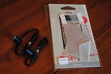 2 new Authentic LIFEPROOF Headphone Adapter for iPhone 4 & 1 screen protector