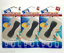 Love Handle Fits Any Device As Seen On TV Bonus 3 Pack Cell Phone & Tablet Sling