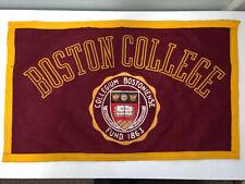 "Vintage Felt Boston College Rectangle Pennant Felt Banner 22.75"" x 13.5"""