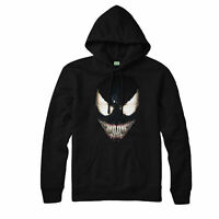 Marvel Venom Hoodie Spider Man Villain Tom Hardy Unisex Adult Kid Hoodie Top