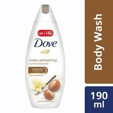 Dove Shea Butter and Warm Vanilla Body Wash, 190ml Softer, Smoother Skin