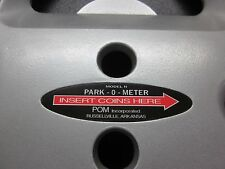 Park-O-Meter, POM, Parking Meter Decal also fits Rockwell and Magee-Hale Meters
