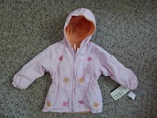 Big Chill Butterfly Reversible Pink Jacket Size 18 Months