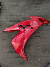 04-06 Yamaha R1 YZFR1 YZF Right Side Upper Fairing Panel Body Bodywork Red OEM