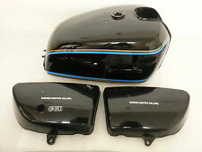 SUZUKI GT750B 1977 MODEL TANK AND SIDE PANELS FULL PAINTWORK DECAL KIT
