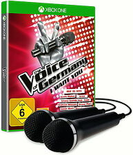 The Voice Of Germany: I Want You + 2 Mikrofone (Microsoft Xbox One, 2016)