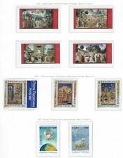 s26867aa) VATICANO MNH** 2001 Complete Year set 33v + s/s  (5 scans)
