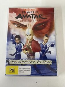 Avatar - The Legend of Aang - The Complete Book 1 Collection (DVD, 5-Disc Set)