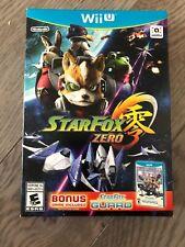 Star Fox Zero + Star Fox Guard - Nintendo Wii U brand new