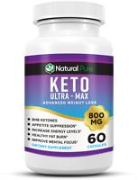 Keto Ultra MAX Diet Pills 800mg BHB Advanced Weight Loss & Ketosis Boost Energy