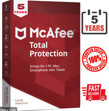 Mcafee Total Protection 2021 Antivirus ✔ 5 years ✔ 1 Device / Fast Delivery ⭐