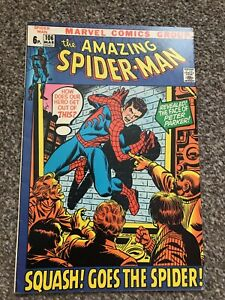 Amazing Spiderman 106 Bronze Age 1972 FN-