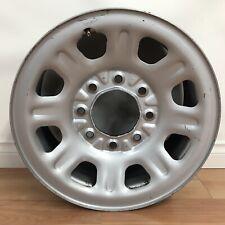 11-19 Sierra, Silverado 2500 Oem 18x8 Steel Wheel *Opt N79,Pyt* Painted Silver