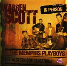 WARREN SCOTT & The MEMPHIS PLAYBOYS CD Rockabilly Rock 'n' Roll Jack Rabbit Slim