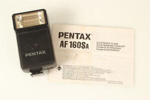 Pentax AF AF-160SA Shoe Mount Flash for  Pentax tested