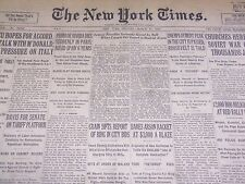 1930 MARCH 17 NEW YORK TIMES - SYDNEY FRANKLIN SERIOUSLY GORED BY BULL - NT 1673