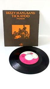 45 RPM Dizzy Man's Band Ticktoo My Love Vinyl Music