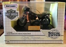 MATCHBOX HARLEY DAVIDSON CAFE RACER SPECIAL EDITION 73320 1:15 SCALE