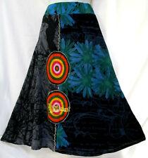 sz (S) 8 DESIGUAL gorgeous funky boho colourful print skirt NEAR NEW! rrp$190