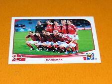 353 EQUIPE TEAM DANMARK DBU PANINI FOOTBALL FIFA WORLD CUP 2010  COUPE DU MONDE