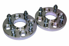 15mm 4x108 63.4CB Hubcentric Wheel Spacer Kit Ford Fiesta MK1 MK2 MK3