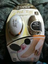 New PedEgg Easy Curve18k Gold-Plated Foot File Ped Egg 10Th Anniversary Edition